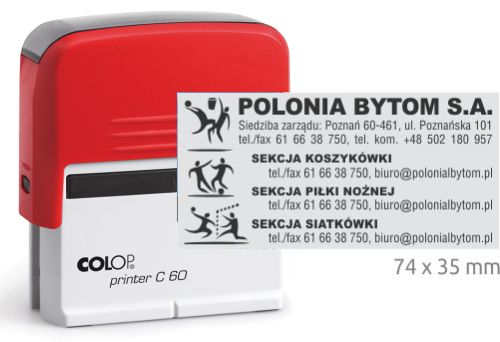 Pieczątka Colop Printer 60